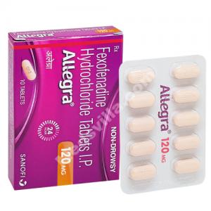 Allegra 120mg (Fexofenadine)