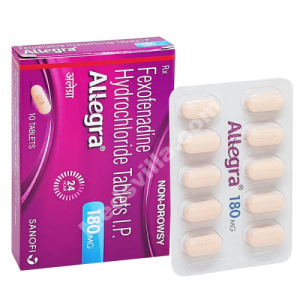 Allegra 180mg (Fexofenadine)
