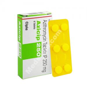 Azicip 250mg (Azithromycin)