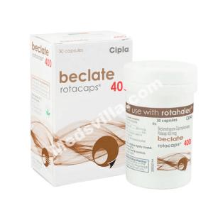 Beclate Rotacaps 400 (Beclometasone)