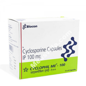 Cyclophil Me 100 mg Capsule (Cyclosporine)