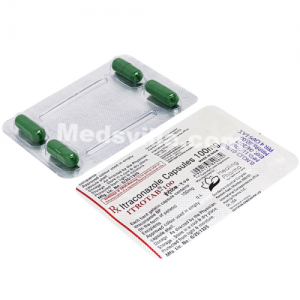 Itrotab 100 Capsule (Itraconazole)