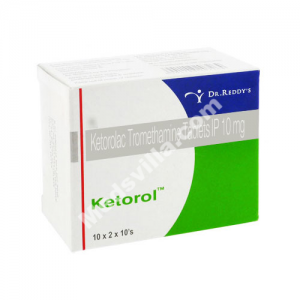 Ketorol 10 mg Tablet (Ketorolac)