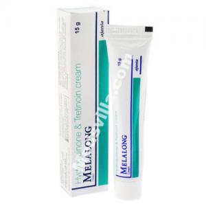 Melalong Cream 15 gm (Hydroquinone 2 %+Tretinoin 0.025 %)
