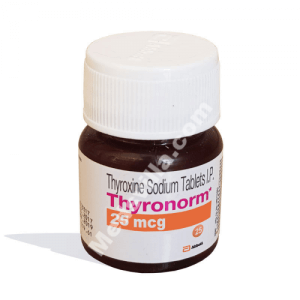 Thyronorm 25mcg Tablet