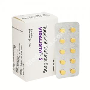 Vidalista 5 mg (Tadalafil)