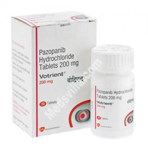 Votrient 200 mg Tablet (Pazopanib)