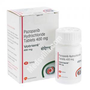 Votrient 400 mg Tablet (Pazopanib)