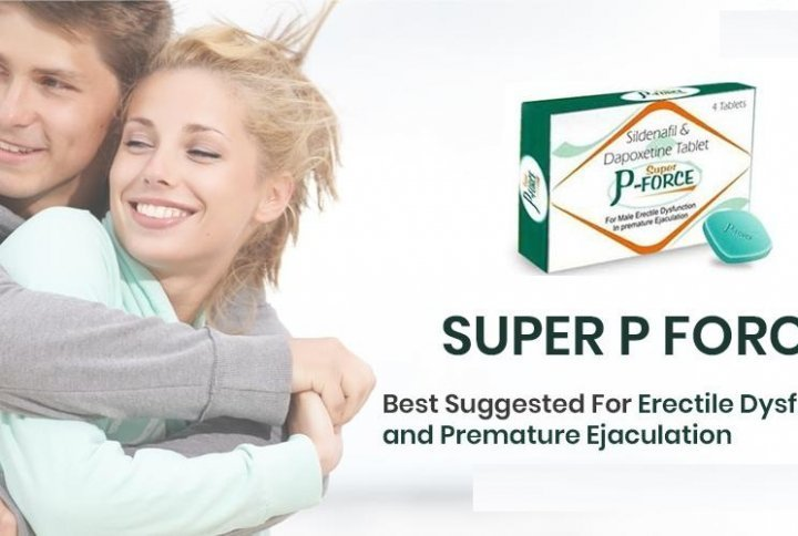 Super P Force Is an Effective Treatment against ED & PE