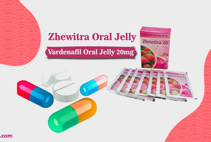 Comforting sexual health with vardenafil oral jelly