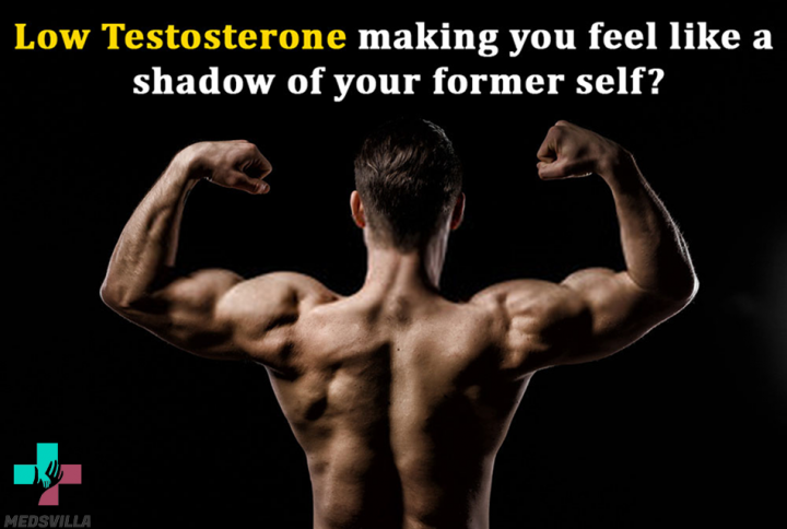 Testosterone deficiency making you feels like a shell of your previous self?
