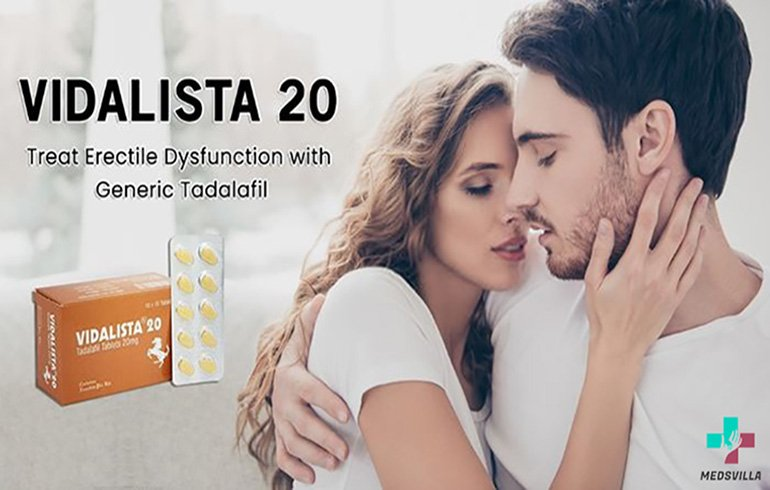 Vidalista is one of the greatest medicines for treating erectile dysfunction.